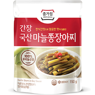 Chongga Garlic Stem In Soy Sauce 150g