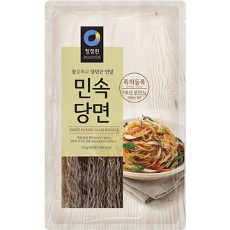 Chungjungone Minsok Dangmyun Vermicelli Sweet Potato Glass Noodle 300g