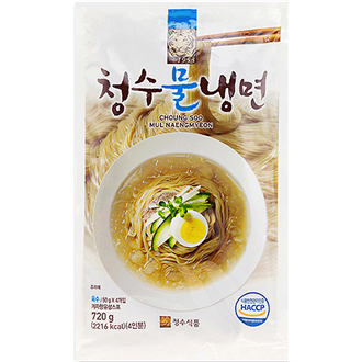 Chungsu Cold Noodle with Soup 720g