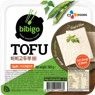 CJ Bibigo Soft Tofu for Soup and Stew Fresh 300g