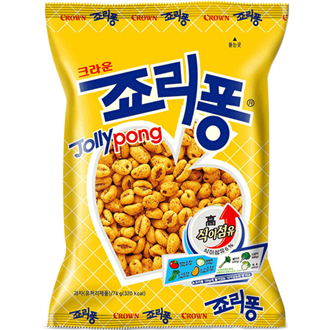Crown Jolly Pong Snack 74g