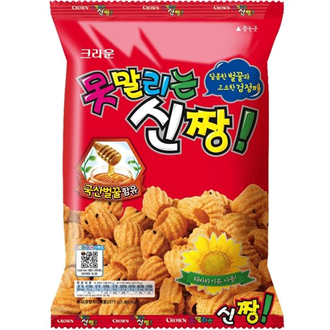 Crown Sinjjang Snack, Honig-Chips 132g
