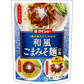 Daisho Goma Miso Men No Moto, Seasoned Soybean Saouce 170g