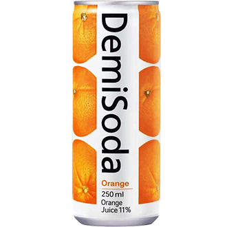Demisoda Orange Soda-Getränk 350ml
