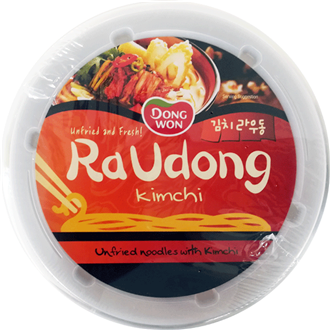 DONGWON Ra Udong noodle soup, Kimchi 214g