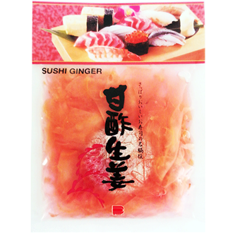 Endo Pickled Ginger Gari Shoga Pink 110g