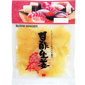 Endo Pickled Ginger Gari Shoga White 110g