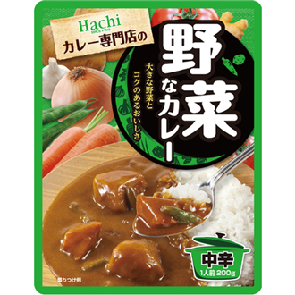 Hachi Yasai na Curry, Curry with vegetables 200g