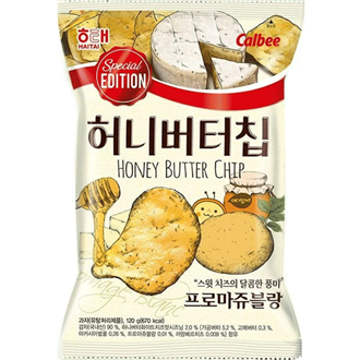 Haitai Honey Butter Chips Fromage Blanc 60g [Special Edition]