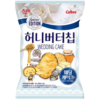 Haitai Honey Butter Chips Wedding Cake 60g