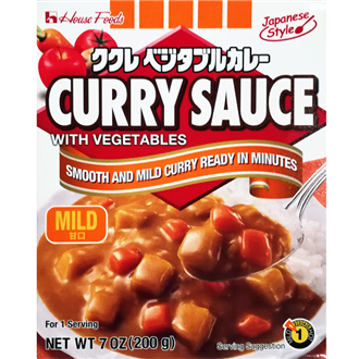 House Kukure Retort Vegetable Curry Amakuchi, Mild, 200g