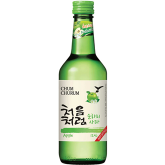 Lotte Chum Churum Apfel Soju 360ml