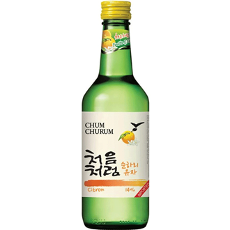 Lotte Chum Churum Zitrone Yuza Soju 360ml