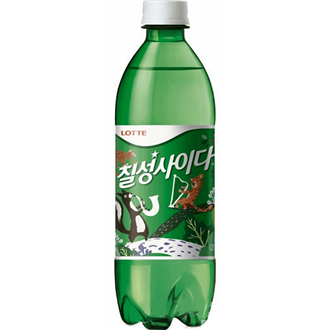 Lotte Zitronen Soda (Chilsung Cider), 500Ml