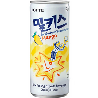 Lotte Milkis Mango 250ml