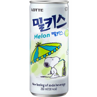 Lotte Milkis Melone 250ml