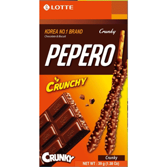 Lotte Pepero Crunchy 47g