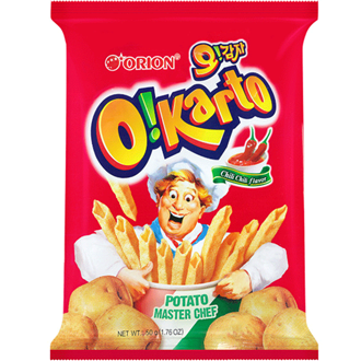 Orion Oh Gamja O Karto Chip Chili 50g