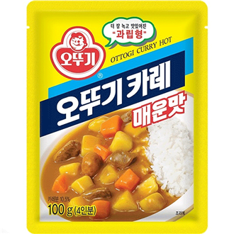 Ottogi Curry Powder (Spicy) 100g