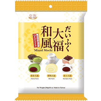 Royal Family Lecker Mixed Mini Wafu Daifuku 250g