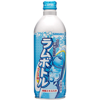 Sangaria Ramu Bottle Ramune Soda Original 500ml