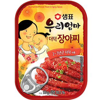 Sempio Bonnet Bellflower Root in Spicy Sauce 90g