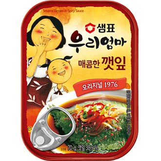 Sempio Sesame leaves in Soysauce Spicy 70g