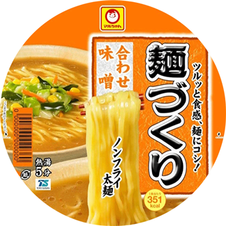 Toyo suisan Nicht-Fried Instantnudeln, Miso, Cup, 104g