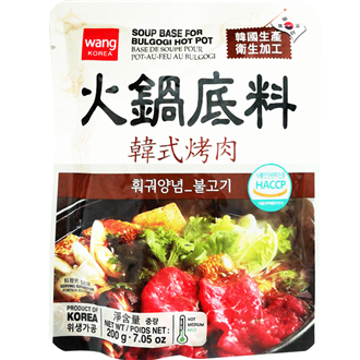 Wang Soup Base for Bulgori Beef Hot Pot 200g