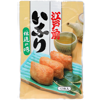 Yamato Inari Zushi no Moto, deep fried Tofu for Sushi, 12 pieces 240g