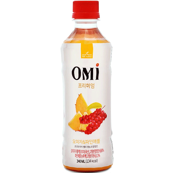 OMI Premium Schizandra Omija & Pineapple Drink 340ml
