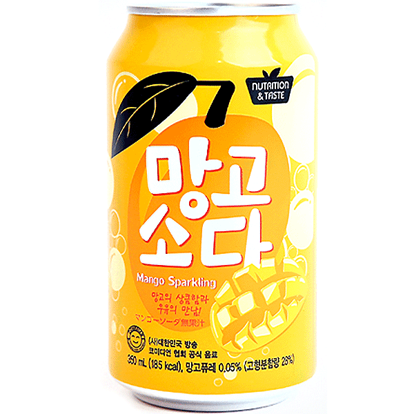 SFCBIO Mango-Soda-Drink 350ml