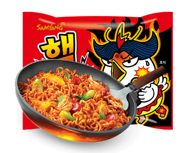 Samyang Spicy Chicken Flavor Ramen